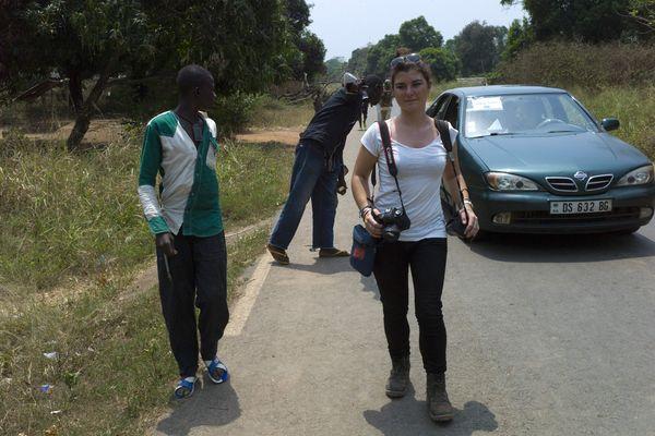 Camille Lepage en Centrafrique en 2014