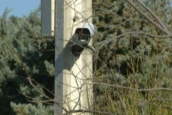Nîmes-Courbessac - le chemin du sanglier où le meurtre de la joggeuse a eu lieu est partiellement sous surveillance vidéo - 27 janvier 2013.