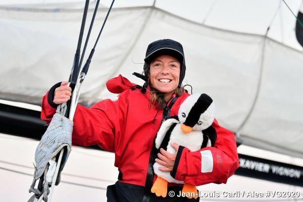 Le bateau d'Alexia TSE 4myplanet est surnommé le pingouin