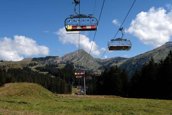 Le domaine skiable d'Avoriaz, le 8 septembre 2020.