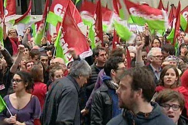 Militants du parti de gauche lors du dernier congrés à Bordeaux.