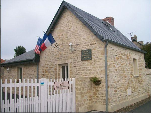 La maison de la Libération de Saint-Laurent sur Mer