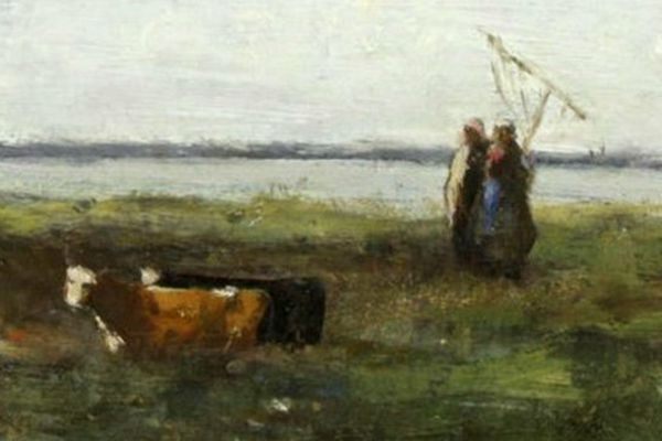 """La """"Baie de Somme"""" de Jean-Baptiste Corot"""