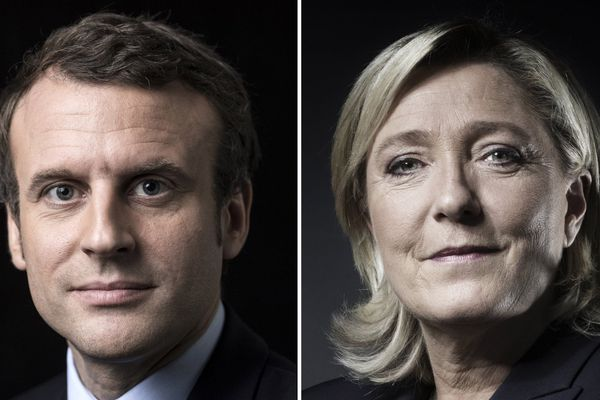Emmanuel Macron et Marine Le Pen qualifiés pour le second tour