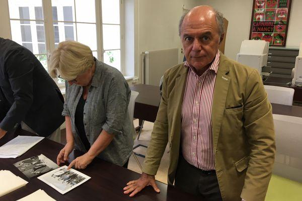Françoise Rossinot était en compagnie de Pierre Assouline pour profiter de ces archives.