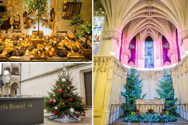 6 châteaux de Touraine dans la féerie de Noël
