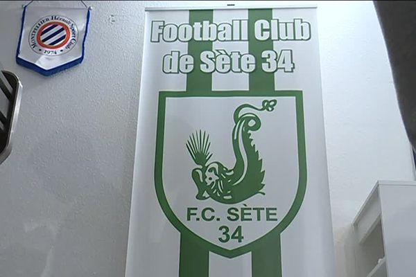 Le Blason du FC Sète