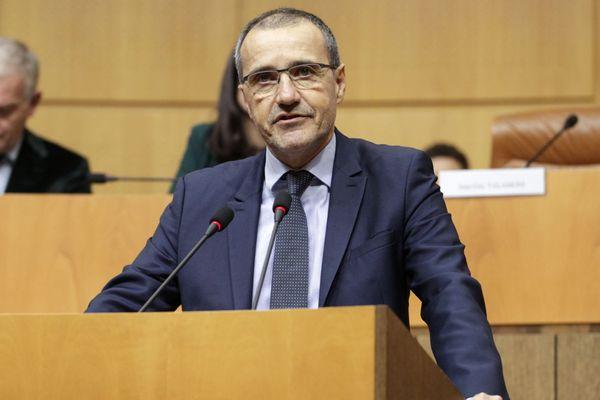 Archives - Le président de l'Assemblée de Corse, Jean-Guy Talamoni.