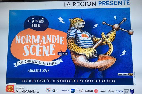Normandie scène, les concerts de la région
