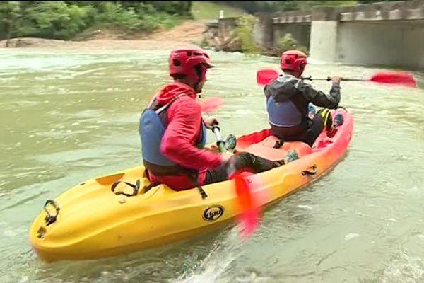 Sur la rivière Ibie
