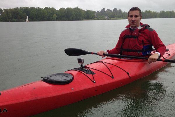 Rémy Boullé, handicapé depuis 6 mois, rêve de participer aux jeux paralympiques de Rio en 2016. .