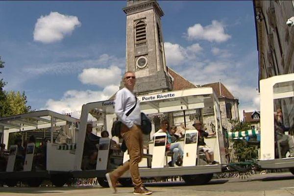 Le centre ville de Besançon prisé des touristes chaque été