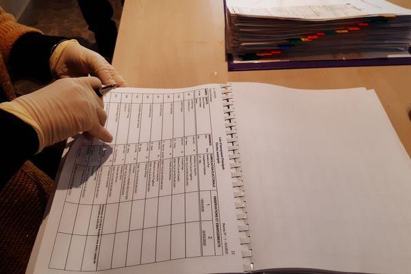 Cet après-midi, les bureaux de vote sont beaucoup moins fréquentés