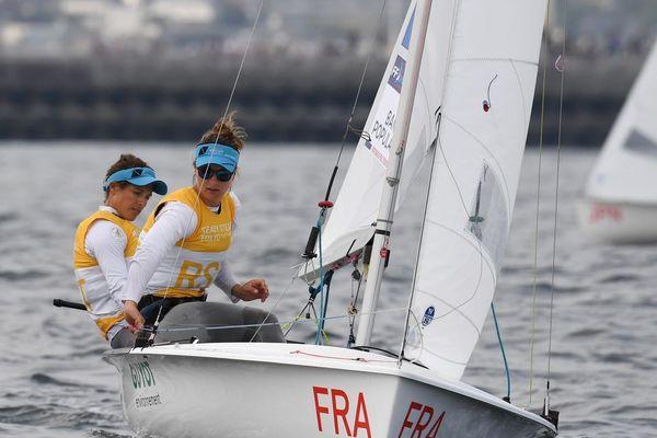 """Les athlètes olympiques Camille Lecointre et Aloïse Retornaz n'ont toujours pas pu reprendre l'entraînement """"ensemble"""" depuis le mois de mars."""