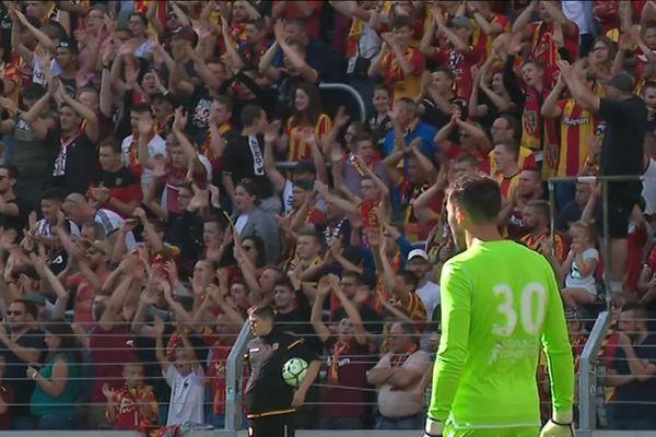 Le gardien Thomas Vincensini n'a pas réussi à éviter les trois buts du club catalan.