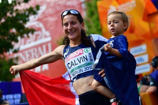 La martégale Clémence Calvin remporte la médaille d'argent