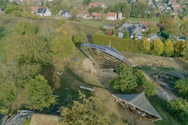 L'héliodome de Coswiller en Alsace