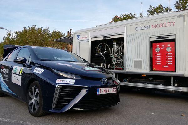 33 véhicules électriques sont présents sur cette 3e édition de l'eRallye Monte-Carlo