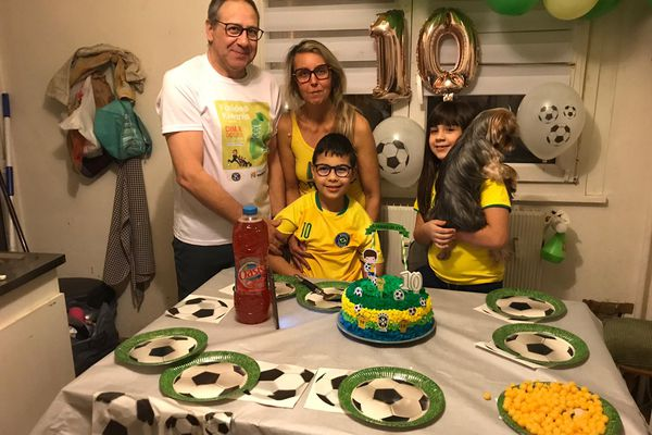 Les 10 ans de Gabriel, le fils de Danielle Klara, célébré en petit comité cette année
