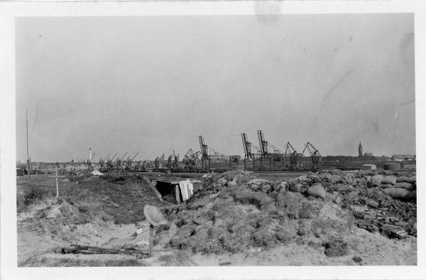 Tombes de soldats britanniques près du port de Calais.