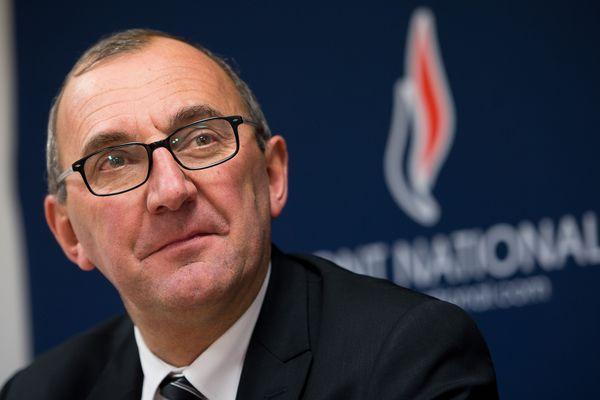 Gilles Pennelle, élu Front national à Fougères