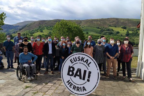 Le mouvement abertzale EH Bai présente des candidats dans tout le Pays basque pour les élections départementales de juin 2021.