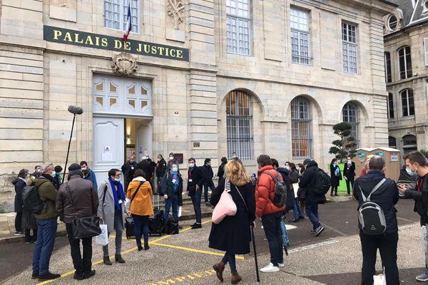 Le Palais de Justice de Vesoul accueille le procès de Jonathann Daval du 16 au 20 novembre 2020.