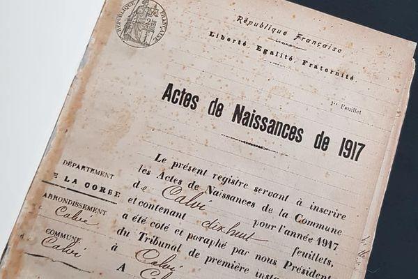 Grégory Viguié réalise les biographies des 111 poilus calvais morts pour la France en 14-18.