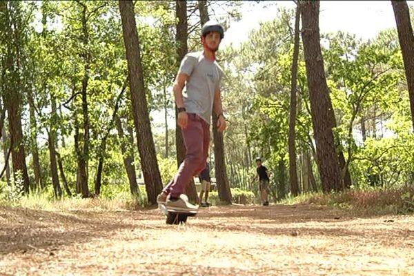 Le skate nature
