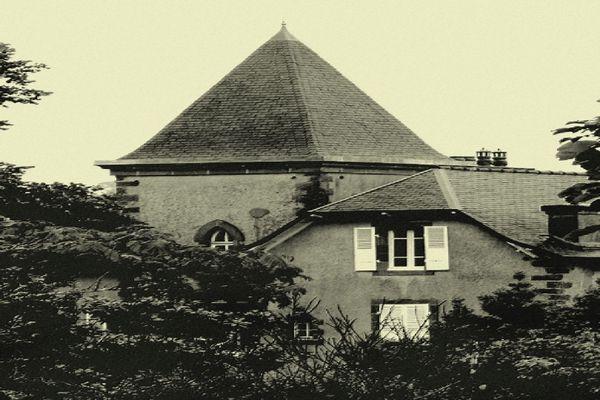 La Villa TI Huella à Morgat (29). C'est ici que séjournait le coupe de Gaulle quand il rendait visite à leur fils Philippe, officier sur la base aéronavale de Lanvéoc (29)