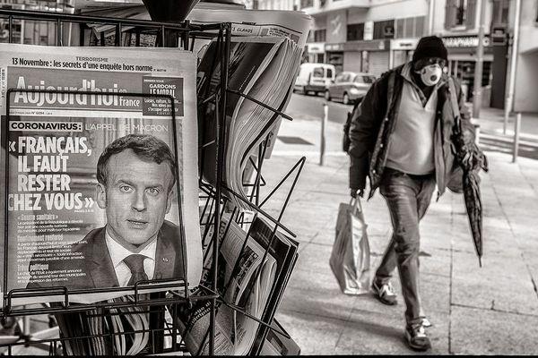 Le photographe Jean-Pierre Rey immortalise la ville de Menton pendant le confinement.