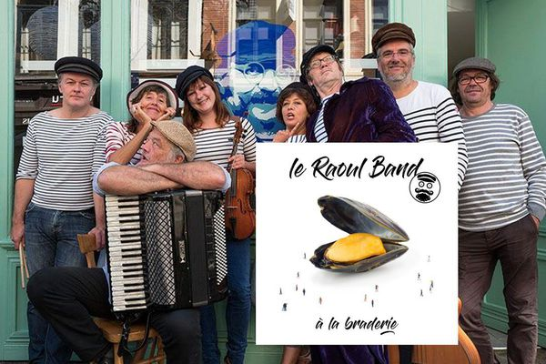 """Le Raoul Band vient de sortir le premier single de son futur album : """"A la braderie"""", promis à devenir l'hymne qui manquait à la braderie de Lille"""