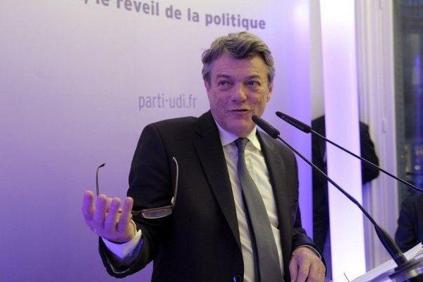 Le député du Nord et président de l'UDI, Jean-Louis Borloo
