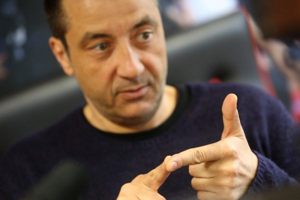 Le président du RC Toulon Mourad Boudjellal.