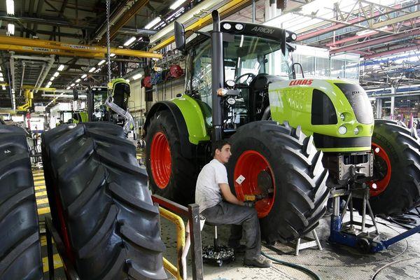 Le constructeur Allemand Claas recrute au Mans pour la construction de ses tracteurs agricoles