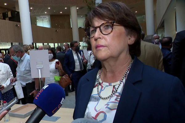 Martine Aubry, maire de Lille, ce 21 juillet.