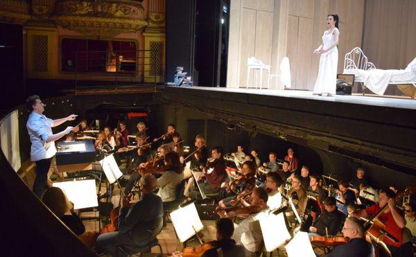 L'orchestre national de Lorraine joue pour l'opéra Eugène Onéguine