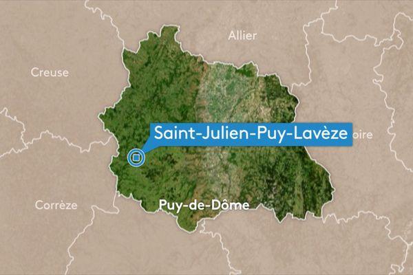 Dimanche 23 juin, à Saint-Julien-Puy-Lavèze, dans le Puy-de-Dôme, un ULM a raté son atterrissage dans le cadre d'un exercice de vol.