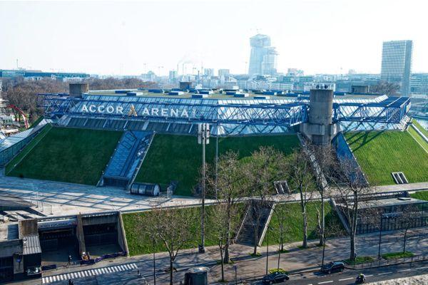 L'Accor Arena, anciennement palais omnisports de Paris-Bercy (POPB), en mars 2021 (illustration).