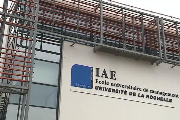 Un des bâtiments sur le campus de La Rochelle