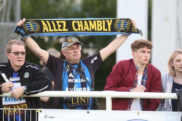 Le FC Chambly affrontait Béziers le 4 mai 2018