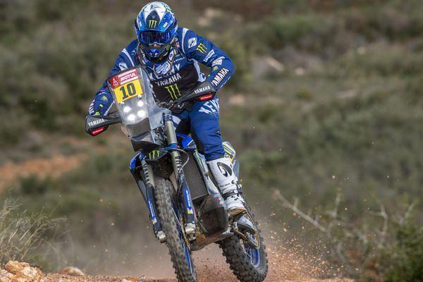 Xavier de Soultrait, pilote Yamaha, vise la victoire pour son 7ème Dakar.