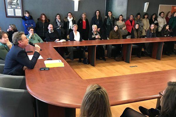 """Les avocats du barreau de Caen ont décidé d'entamer une """"grève dure"""" contre le projet de réforme des retraites"""