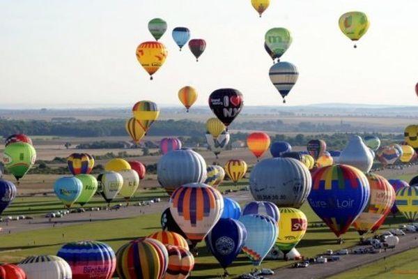 Le Lorraine Mondial Air Ballons - la plus importante manifestation mondiale de montgolfières - a lieu du 26 juillet au 4 août 2013