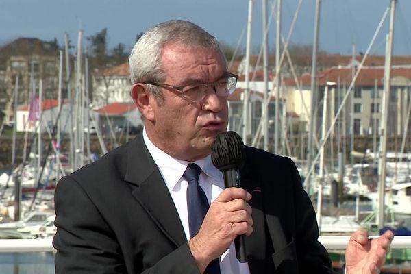 Yves Auvinet aux Sables-d'Olonne le 26 mars 2021