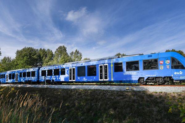 Coradia, le train à hydrogène d'Alstom pour le réseau allemand