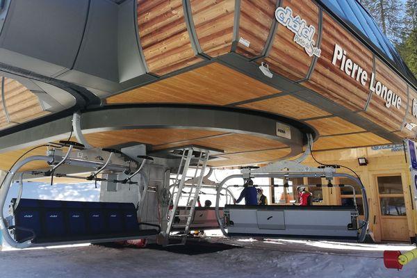 L'accident s'est produit à la station de ski de Châtel, jeudi, en Haute-Savoie.