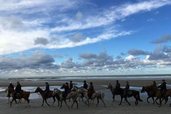 Randonnée à cheval Baie de Somme