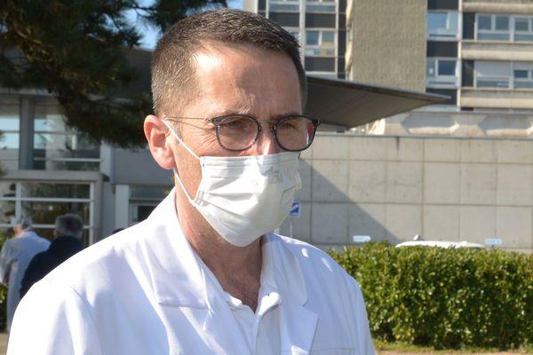 Marc Noizet, chef du pôle des urgences à l'hôpital Emile Muller (Mulhouse)
