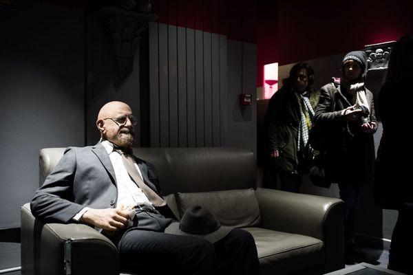 Une des salles proposées au cœur du projet DAU, au Théâtre du Châtelet, lors d'une visite réservée à la presse le 23 janvier.